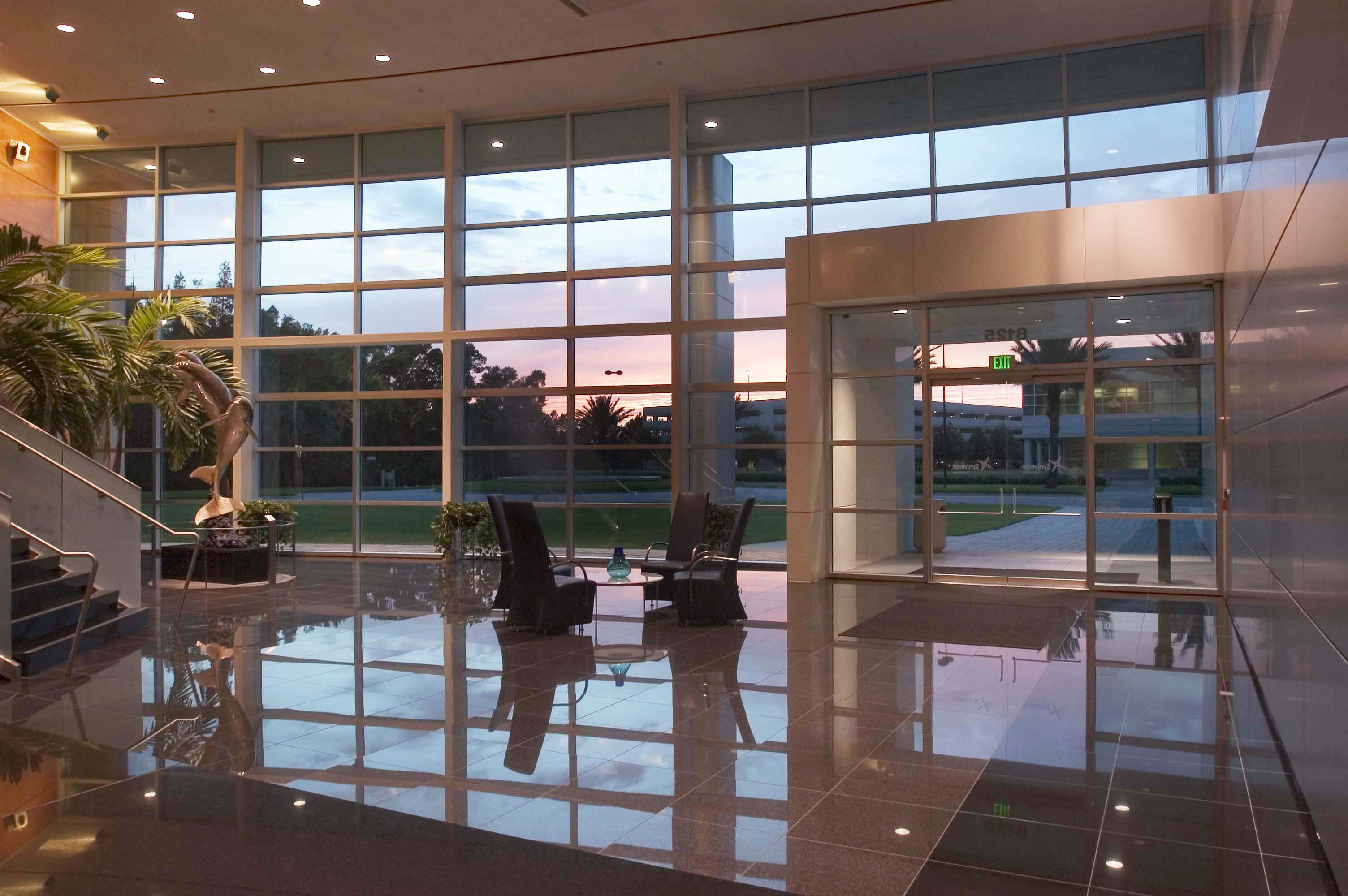 Syniverse - Lobby Sunset