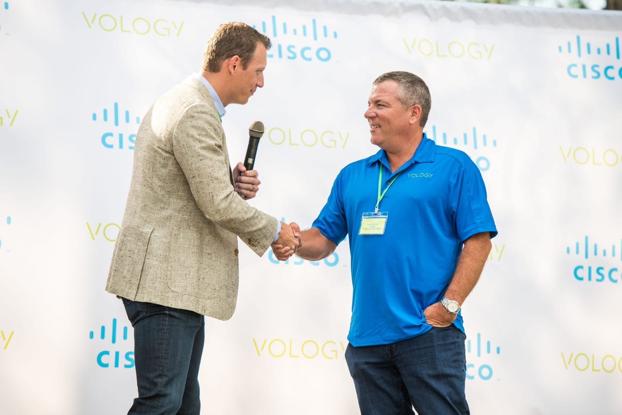 Vology - Cisco's Rick Hill presents Vology CEO Barry Shevlin